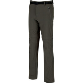 Regatta Xert II Stretch Zip of Trousers Kurz Herren roasted